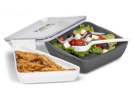 Workholic Lunch Box - White
