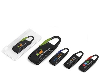 Delphic Travel Lock - Avail in: Black, Blue, Lime or Red