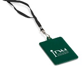 Exhibit Id Holder - Available in Black, Blue, Green or Red