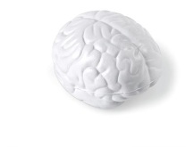 Brainstorm Stress Ball - Solid White