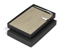 Oakridge USB Notebook Set - Avail in Beige or Brown