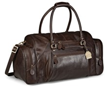 Gary Player Leather Weekend Bag