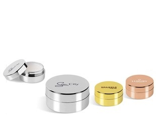 Glamorous Disc Lip Balm - Avail in: Gold, Rose Gold or Silver