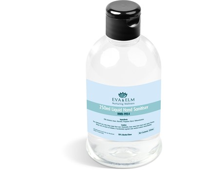 Eva & Elm Nuffield Liquid Hand Sanitiser - 250Ml