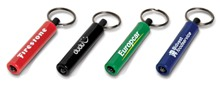 Tubular Torch Keyholder - Available in many colours
