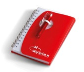 Tribune Notebook  - Available in Red, White or Turquoise