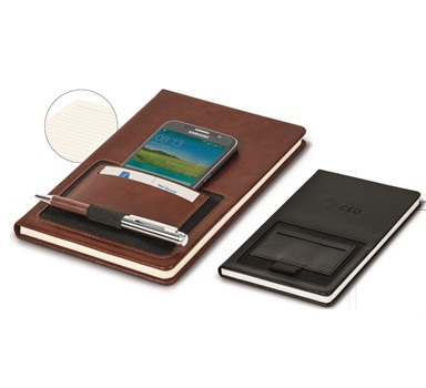 Ashburton Portage A5 Notebook - Black or Brown