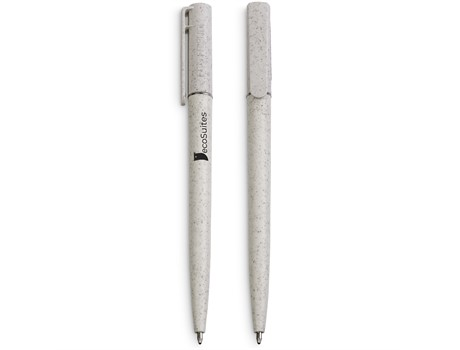 Okiyo Eco Friendly Jade Wheat Straw Ball Pen