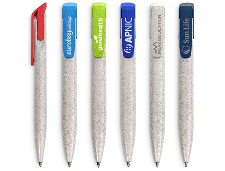Okiyo Eco Friendly Yucca Wheat Straw Ball Pen