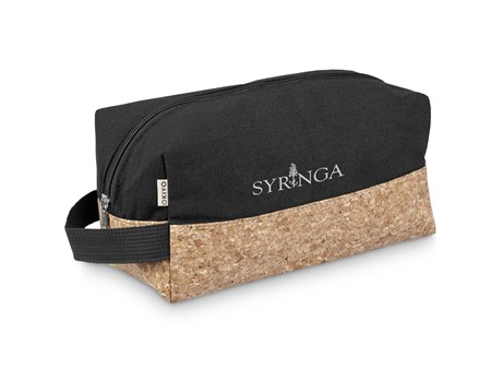 Okiyo Eco Friendly Koruku Cork Toiletry Bag