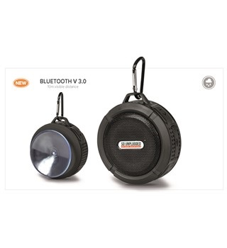 Splash Waterproof Bluetooth Speaker - Black