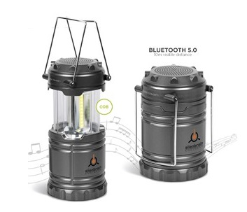 Sydney Lantern & Bluetooth Speaker SC - Gunmetal
