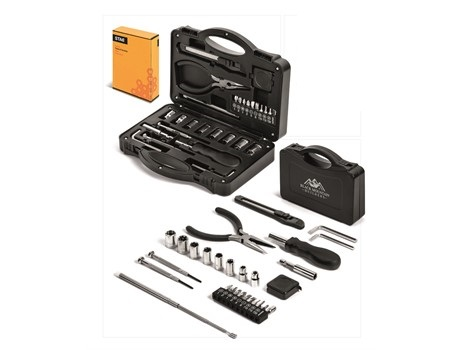 Stac 28-Piece Tool Set - Black