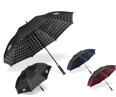 Wrigley Umbrella - Avail in: Grey, Navy or Red