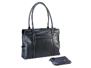 Leather Adpel Womans Laptop Bag