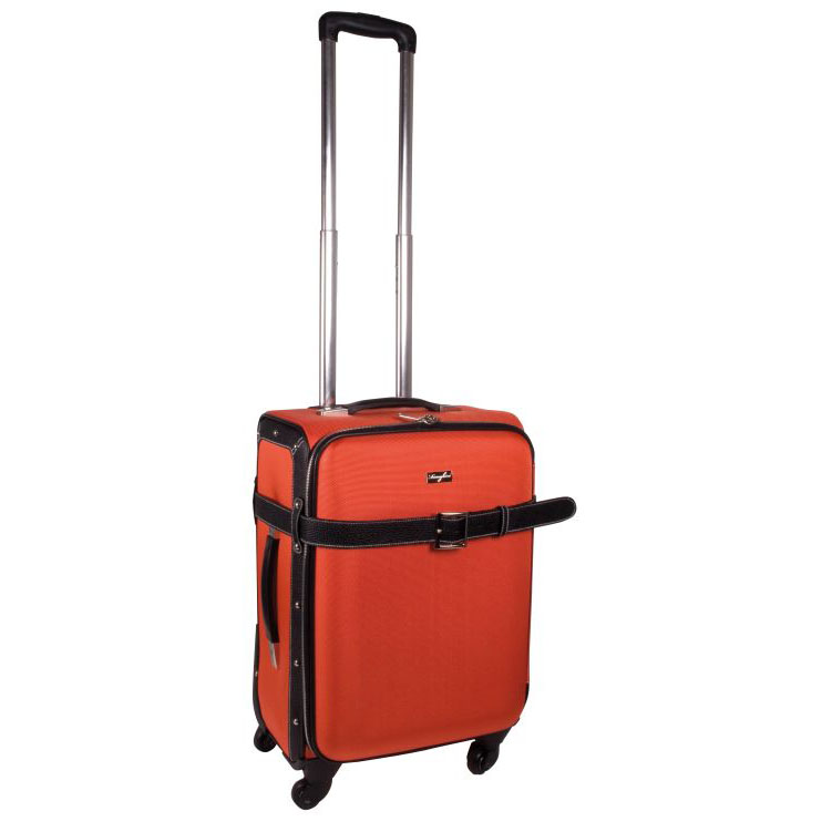Roller Trolley case  Available in Black, Blue, Red or Orange
