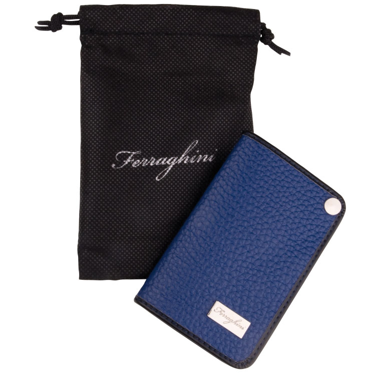 Credit Card Wallet  Available in Black, Blue, Red or Orange