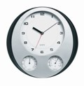 Sunbeam  Wall Clock - Humidity Temperature