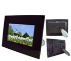 Telefunken 7 Inch  Digital Photo Frame Gloss Black