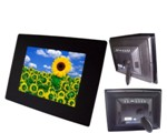 Telefunken 12 Inch  Digital Photo Frame Gloss Black