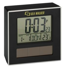 Solar radio controlled clock - Assorted colors available