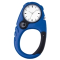 Clip-on analog clock - Available in Blue, Green, Orange, Purple,