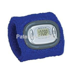 Dynamo. Sweatband pedometer watch