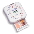 24 Hourly pill box timer