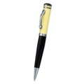 Extra Slim USB storage drive ball point pen.. Brass pen case wit