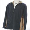 Trendi 2-Tone Jacket - Navy/Tan