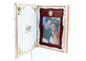 Ladies Picture Frame, Notepad And Clock Gift Set