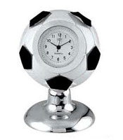 Soccer Ball Novelty Desk Clock