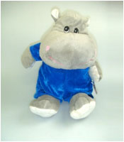 Hippo Stuffed Toy