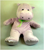 Stuffed Toy Hippo
