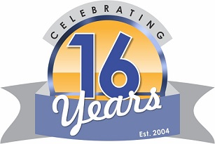 Perkal 16 years in business badge