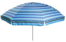 256 cm Beach Umbrella Assorted Prints