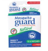 Mosquito Guard Natural Patch - 12's