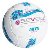 Sevenn Miya League Netball Ball - Avail in: White/Sky/Pink