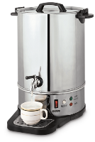 16 Litre Stainless Steel Urn - Silver