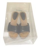 Storeeze clear shoe box medium (set of 2)