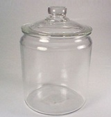 Glass Jar & Lid 2 Gallon 7.6L