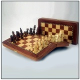 Foldable Rosewood Chess Set 30 * 15 cms