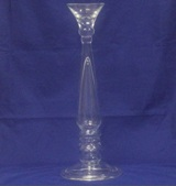 Glass Candle Stick 71 * 10.5cm Diameter