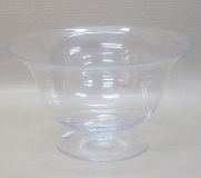 Glass Bowl - 19.5 * 32cm