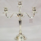 Silver Plated Candles Holder - 35cm