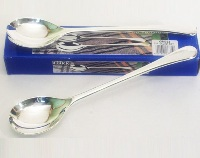 Silver Plated Salad Servers - 23.5cm