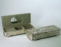 Silver Plated Jewellery Box 5.5*9*23cm