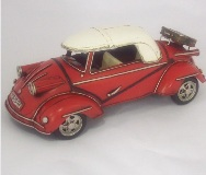 Model Motorcar 1955 Red Messerschemit - 10.5*27*14cm