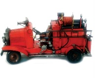 Model Fire engine Truck red 19*39cm