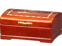 Musical Wooden Jewellery Box 7.5*16*11cm